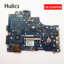 Hulics Original Laptop motherboard CN-03H0VW Für DELL Inspiron 3521 Mainboard LA-9104P 03H0VW 2127U(China)