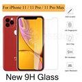 Закаленное стекло HD для iphone 11 Pro Max XS XR 7 8 Plus, Защитное стекло для экрана iphone 11 Pro Max 7 8 6s Plus X 11 Pro 6 6s 5 - фото
