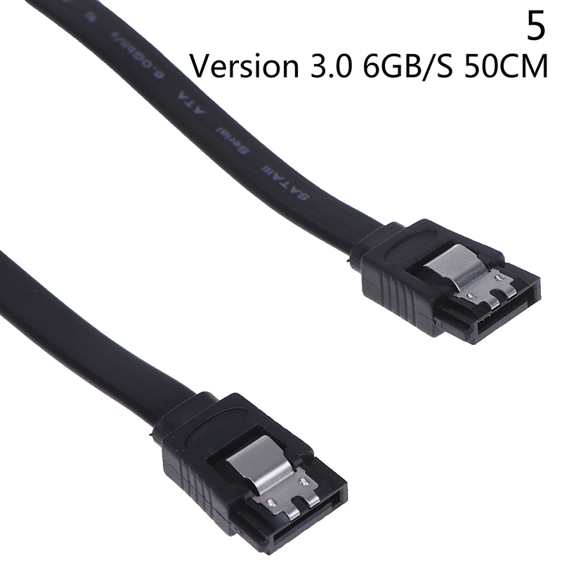 45CM SATA 3.0 III SATA3 6Gb//s SSD Hard Drive Data Direct Right Angle Cable BB
