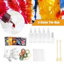 5-color Tie-dye Suit DIY Self-made Graffiti Painting Set платье self made self made mp002xw1hpz9
