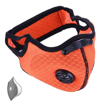 Cycling Masks Half Face Bike Bicycle With Filter Neoprene Activated Carbon outdoor sport mask mascarillas  Reusable Washable