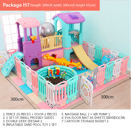 Environmental Protection Game Safety Fence Baby Playpen Fencing Children Indoor Activity Gear Educational Play Yard Free Ship