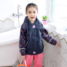 Boy Outfits Pants Tracksuit Overalls Kids Baby-Girls Waterproof Sport Coat Rain PU Jacket