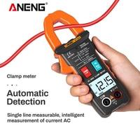 ANENG ST203 الرقمية المشبك متر 4000 التهم متعددة الوظائف تيار مستمر/التيار المتناوب المشبك متر الاستقرائي السلامة الحالية المتعدد