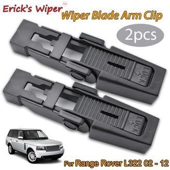 Erick's Wiper 2Pcs Front Windshield Wiper Arm Lock Clip Fixing Retaining Clips For Land Rover Range Rover L322 2002 - 2012 erick s wiper 2pcs front windshield wiper arm lock clip fixing retaining clips for land rover range rover l322 2002 2012