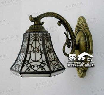 Японский светильник для ванной комнаты, промышленный декор, железная столовая, спальня, коридор, светильник