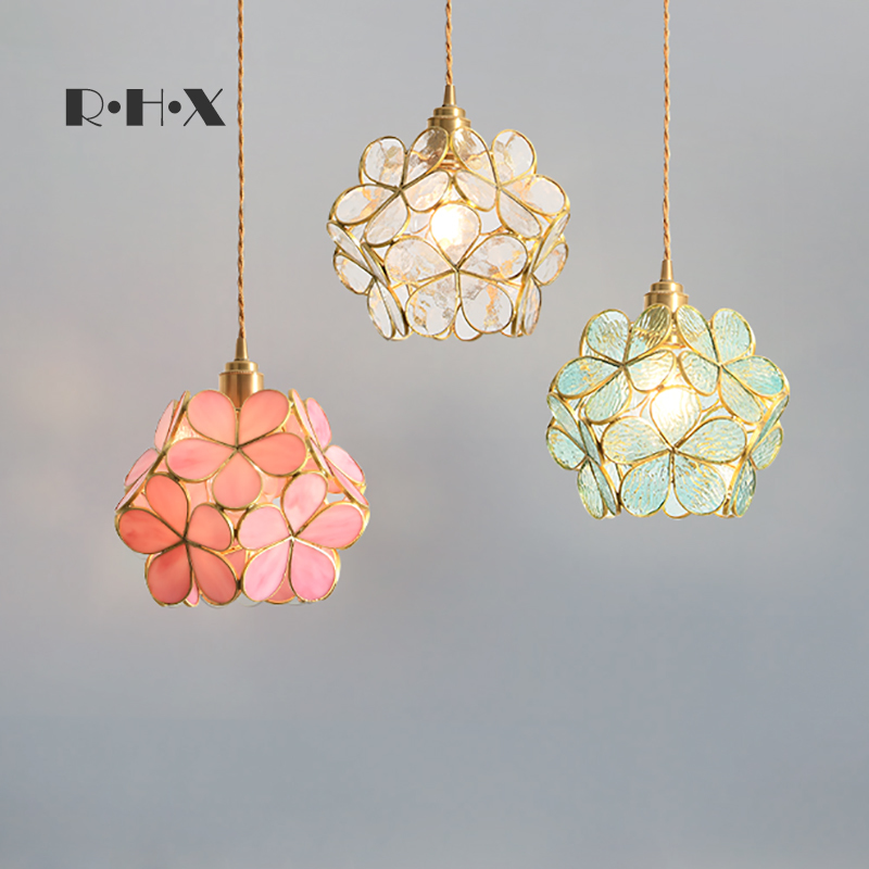 hanging ceiling lamps glass ball Home Decoration E27 Light Fixture  restaurant  hanglamp|Pendant Lights| |  - title=