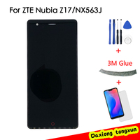 Free Shiping For 5.5 ZTE Nubia Z17 Lite NX591J LCD Display Touch Screen Digitizer Glass Assembly + Tools