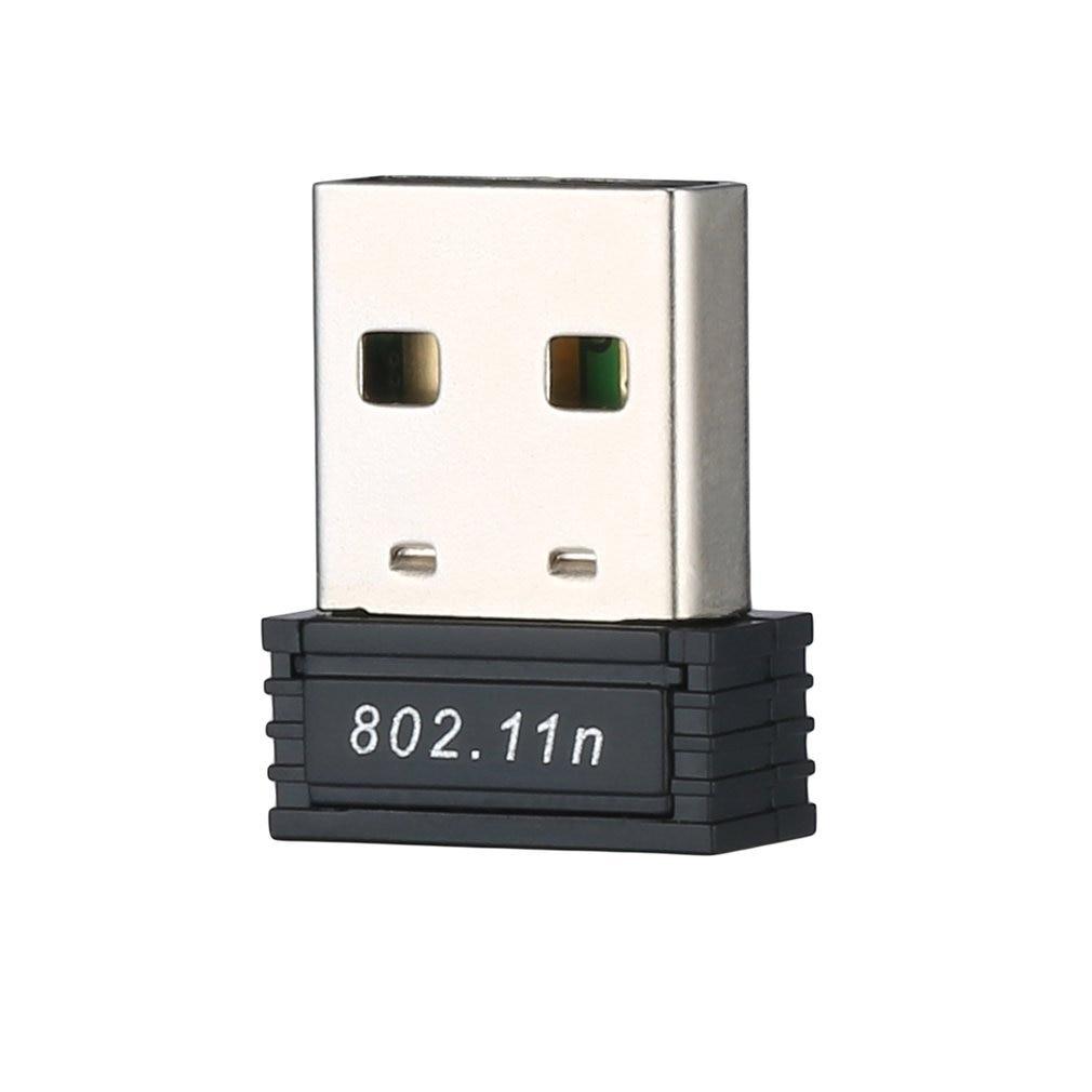 Mini PC WiFi adapter 150M USB WiFi antenna Wireless Computer Network Card 802.11n/g/b Portable USB Wifi Receivers Adapter(China)