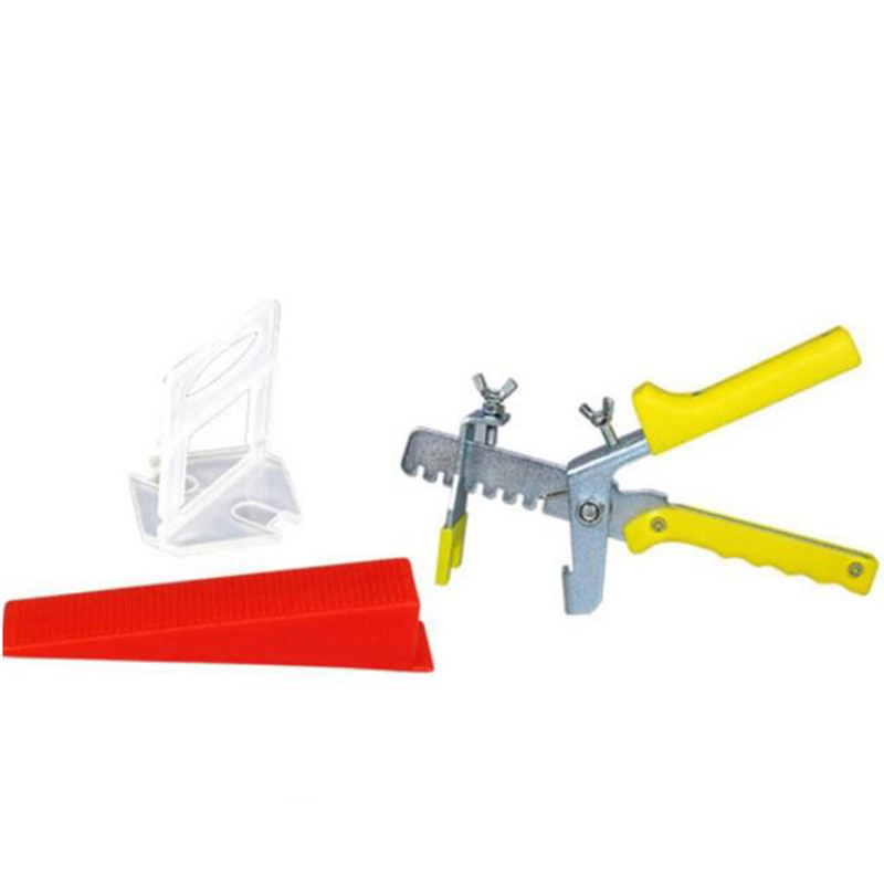 401 Tile Leveling System 1.5 Mm 300 Clips + 100 Wedges + 1 Piece Of Pliers Plastic Paving Tool Tile Spacer
