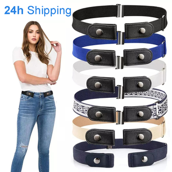 20 Styles Buckle-Free Waist Belt For Jeans Pants,No Buckle Stretch Elastic Waist Belt For Women/Men,No Hassle Belt DropShipping