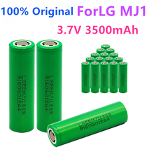 1-10 шт. 100% оригинальный MJ1 3,7 в 3500 мАч 18650 литиевая аккумуляторная батарея для фонарика батареи для LG MJ1 3500 мАч батарея