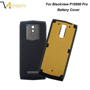Image 1 - Alesser Voor Blackview P10000 Pro Batterij Cover Met Uitstralende Film Ultra Slim Beschermende Voor Blackview P10000 Pro Bateria Cover
