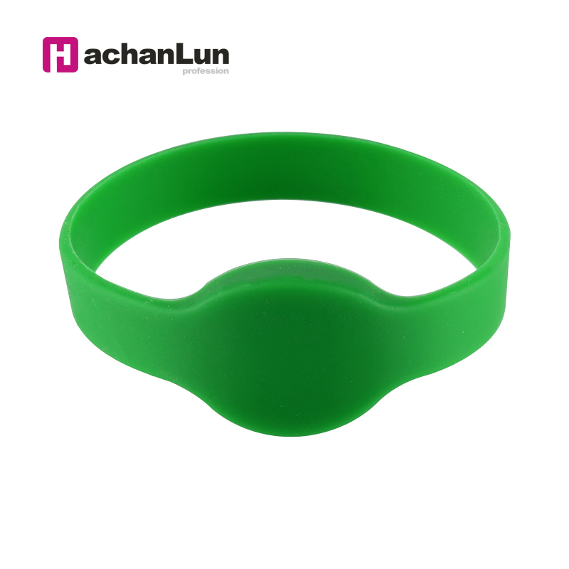 50PCS EM4100 In The Access Card Wristband 125KHZ TK4100 RFID Bracelet Silicone Access Control Card