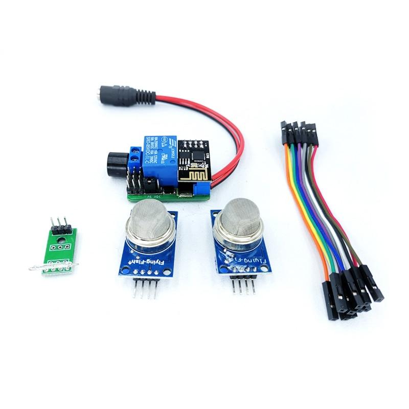 Cross-Array KzM4-BJ04 IoT Suite Air Smoke Sensor Module Remote Alarm