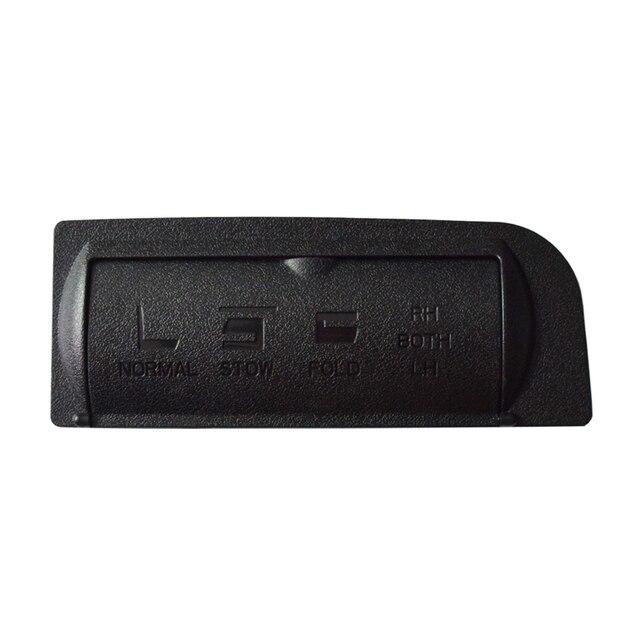 Auto voiture accessoires noir plastique siège réglage bouton housse de protection coffre interrupteur capuchon pour Ford Explorer 2011-