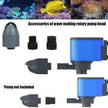 Falownik akwariowy pompa pojedynczy klosz trwała regulowana pompa wody morskiej produkty pompa surfingowa kierunek fali dla akwarium Fresh F5Q7