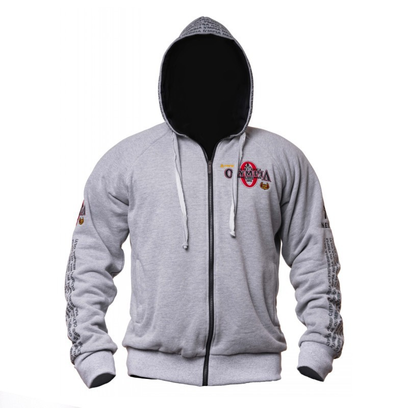 2020 New OLYMPIA Men Gyms Hoodies Gyms Fitness Bodybuilding Sweatshirt Pullover Sportswear Male Workout Hooded Jacket Clothing