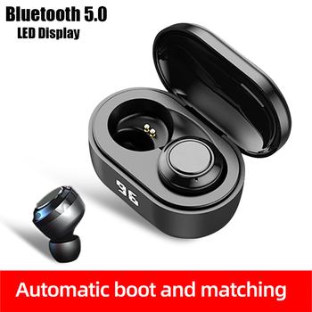 A6 Wireless Headphones Bluetooth 5.0 Earphone TWS HIFI Mini Sports Running Gaming Headset Support for Phones HD Call Earbuds