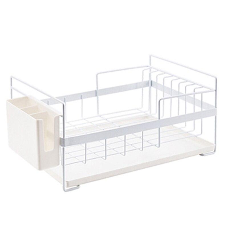 Kitchen Storage Organizer Dish Drainer Drying Rack Kitchen Sink Holder Tray For Plates Bowl Cup Tableware Shelf Basket|Racks & Holders| |  - title=