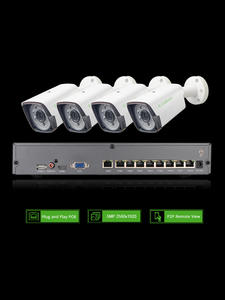 G.craftsman Ip-Camera NVR Surveillance-Alarm H.265-System Security-Up CCTV Outdoor Waterproof