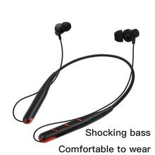 Bluetooth Earphone Wireless In-Ear Sports Earbud Neckband Stereo Bluetooth Headset With Mic For Xiaomi iPhone Samsung Huawei sweatproof rainproof bh503 wireless bluetooth headset stereo sports headphone neckband earphone with mic for iphone samsung htc