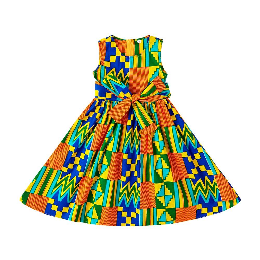 Kids african dress Kente maxi skirt,African shirt, baby African dress