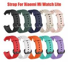 Ersatz Band Für Xiaomi Mi Uhr Lite Armband armband Für Redmi Handgelenk Strap Sport Silikon Armband Uhr Zubehör Gürtel