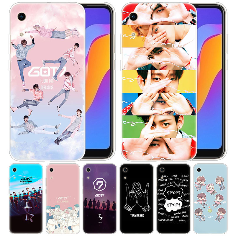 Luxury Silicone Case Boy Group Kpop GOT7 For Huawei Honor 9X 8A 7A 20 Pro 7X 8X 7S 8S 8 9 10 Lite View 20 20i 10i Play Fashion