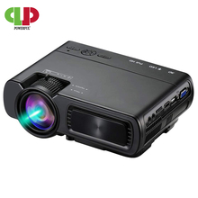 Powerful LED Projector T5 2600 Lumens Video Beamer Android 6.0 WIFI Wireless Syn