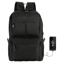 Fashion Men Backpack Bag Male Polyester Laptop Backpack USB Charging Large Capacity Computer Bags Waterproof School Bags Mochila все цены