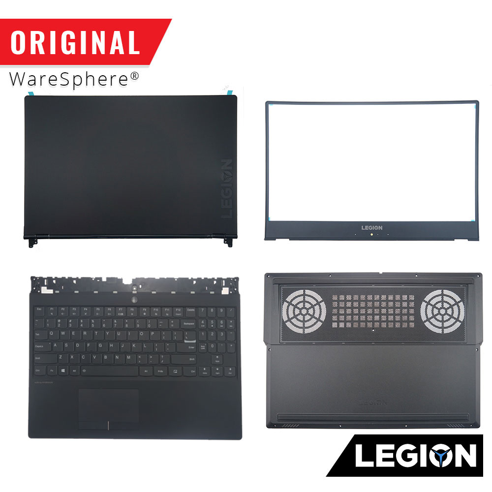 New Original For Lenovo Legion Y530 Y530-15ICH LCD Back Lid Cover Front Bezel Palmrest Bottom Upper Lower Base Case Keyboard