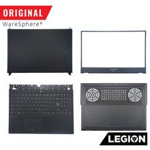 Tampa traseira de lcd para lenovo legion y530, moldura inferior inferior para teclado
