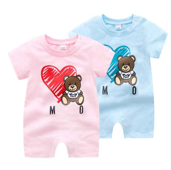 Baby New Summer Cotton Shorts Jumpsuit, Boy And Girl Cute  Jumpsuit Szbalqoy Brand Clothes