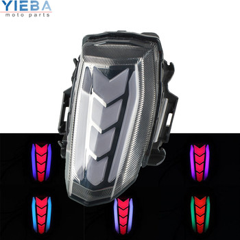 for Yamaha YZF R15 YZF-R15 YZFR15 2017 2018 2019 2020 Motorcycle Accessories Tail Light LED Turn Signals Brake Light Parking CNC