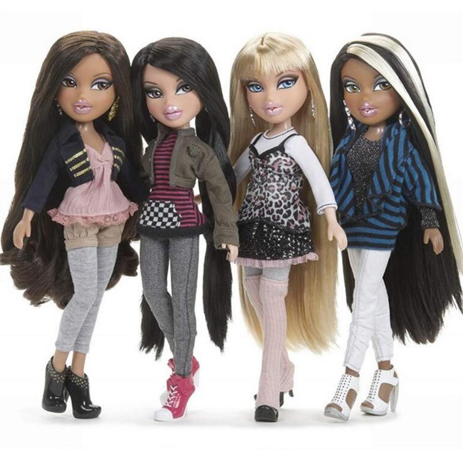 23cm Original Fashion Action Figure Original Bratz Doll Dress Up Doll Street Beautiful Girl Yasmin Best Gift For Children Girls