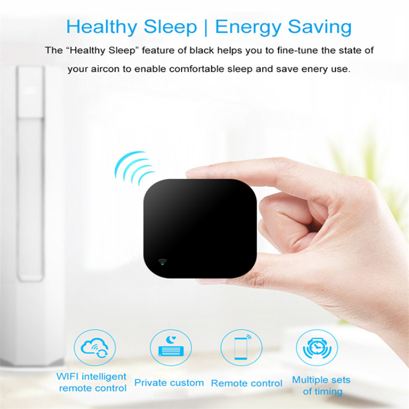 H7f27d5aeb09b44a9a3faa292d9529567l - Mini Smart Home Automation WIFI IR Remote Control Intelligent Universal 2.4GHz WIFI IR Remote for Alexa Echo Google Home