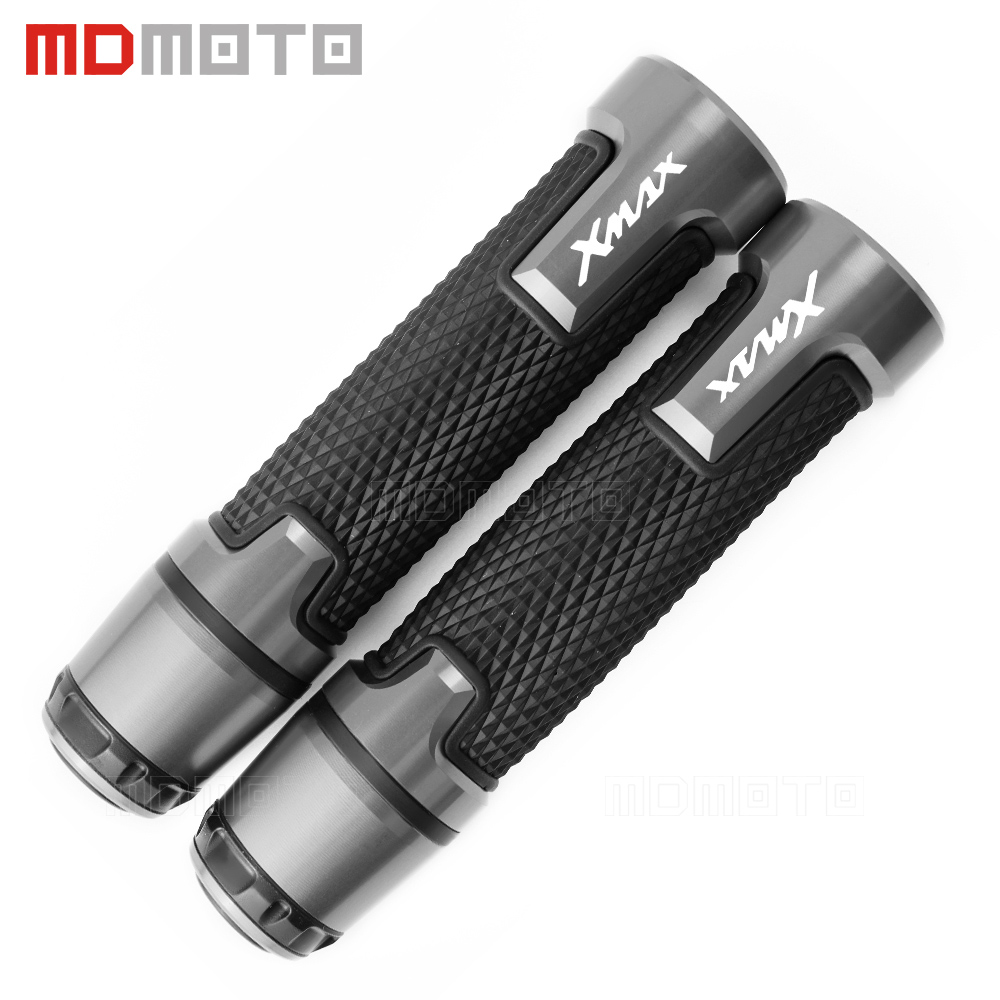For Yamaha xmax 125 250 300 400 X MAX 2017 7/8'' 22mm Motorcycle knobs Anti-Skid scooter Handle ends Grips Bar Hand Handlebar
