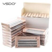 YSDO kirpik uzatma toptan 10/20/30/40/50 kutu bireysel kirpiklere makyaj C kıvırmak yanlış kirpik toplu 20D küme Lashes