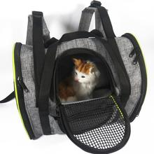 Pet Multi-Function Backpack Breathable Folding Outdoor Portable Car
