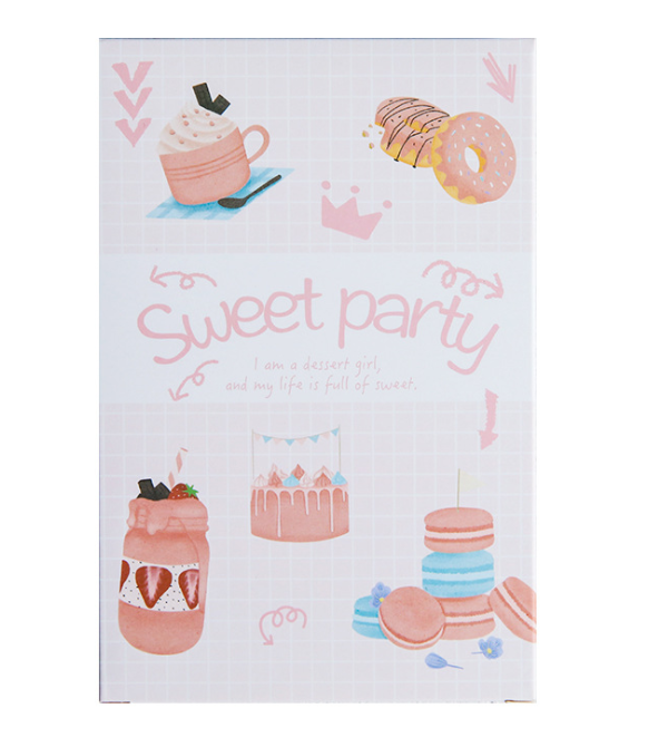 A163- Sweet Party Paper Postcard(1pack=30pieces)