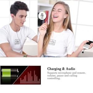 Image 5 - 2 pièces 2 en 1 Usb Typec adaptateur écouteur répartiteur de charge à 3.5mm prise casque Audio Aux pour Xiaomi Huawei Oneplus câble de téléphone