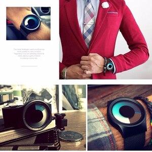 Image 5 - Relogios Masculino Creative Quartz Horloges Mannen Fashion Brand Fashion Rvs Unisex Horloge Klok Man Vrouwelijke Designer
