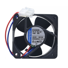 original For PAPST 614 NHHR 614NHHR DC 24V 3.0W 2-wire 60x60x25mm Server Square Fan