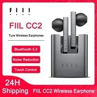 FIIL CC2 auricolari Bluetooth 5.2 Wireless chiamata ENC cuffie sportive con cancellazione del rumore cuffie da gioco TWS per Xiaomi Apple Huawei