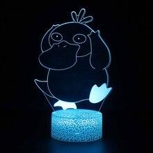 Children Christmas gift 3d Led Night Light Rgb Color Change Led Lamp Love Gifts Girlfriend 3d Night lamp Girls Bedroom Light