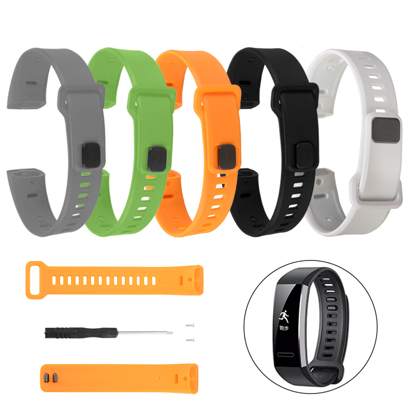 Replacement Sport Silicone Watch Band Strap For Huawei Band 2 Pro Band2 ERS-B19 ERS-B29 Smart Wath Wrist Strap Band Bracelet