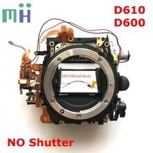 יד שנייה עבור ניקון D610 D600 מראה תיבת מול גוף כידון הר מסגרת צמצם מנוע Diphragm כונן יחידה (לא תריס)