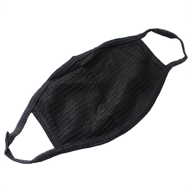 Cotton Yarn PM2.5 Masks Anti Dust Keep Warm Cotton Anti-pollution Mask Windproof Mouth-muffle Bacteria Proof Flu Black