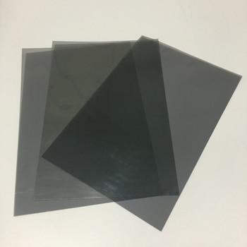 20pcs 30*20CM 90 Degree Linear Polarizer Educational Physics Polarized Filters Film Sheets with Adhesive/Non-adhesive 1